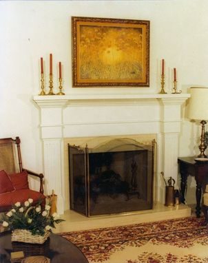 Custom Made Painted Mantel