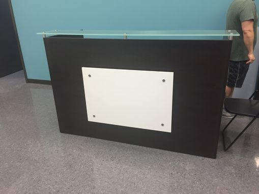Custom Made Custom Reception Desks
