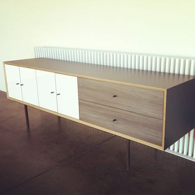 Custom Made Modern Storage Media Console