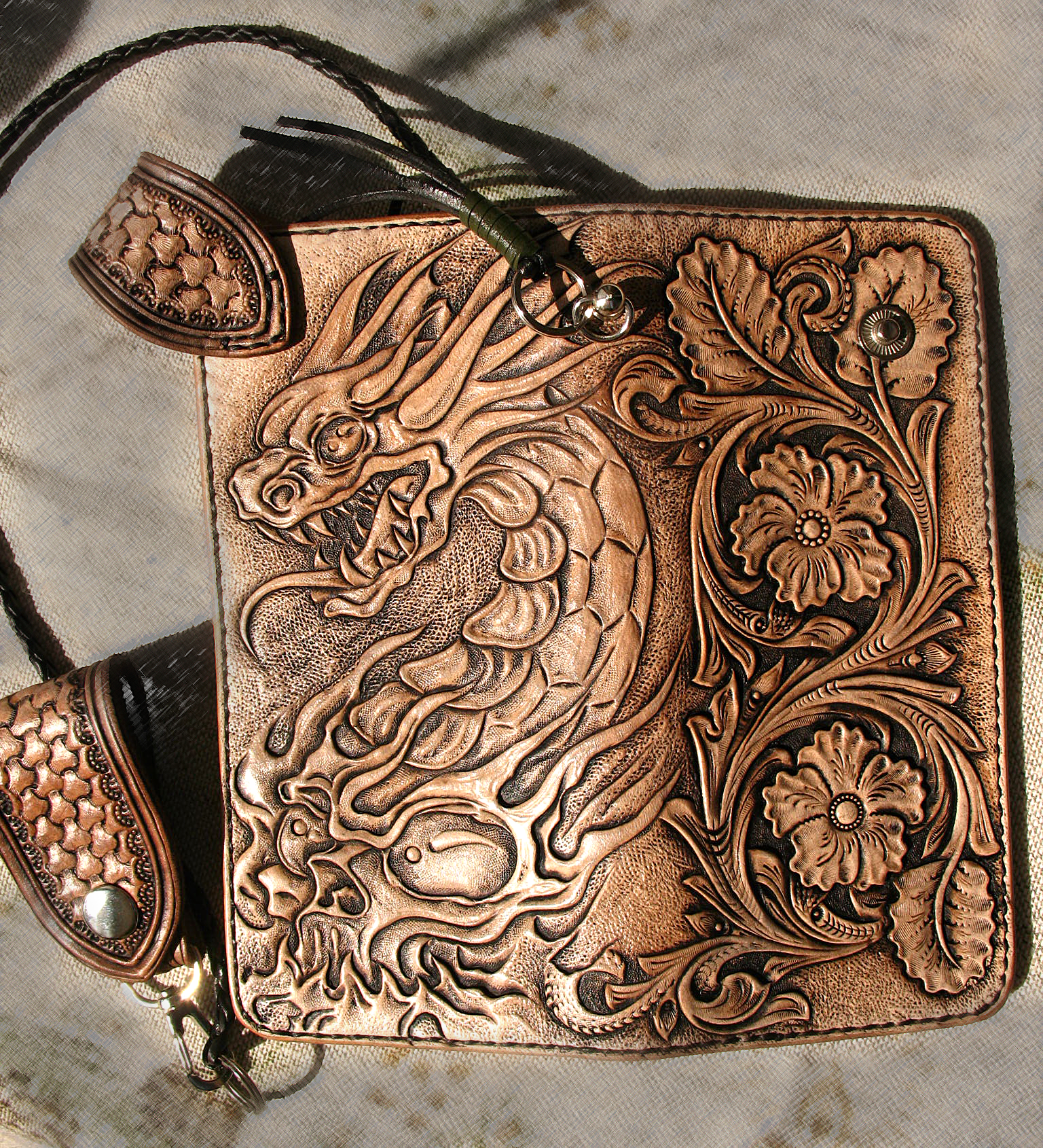 Buy A Hand Crafted Hand Tooled Hand Carved Dragon Skull