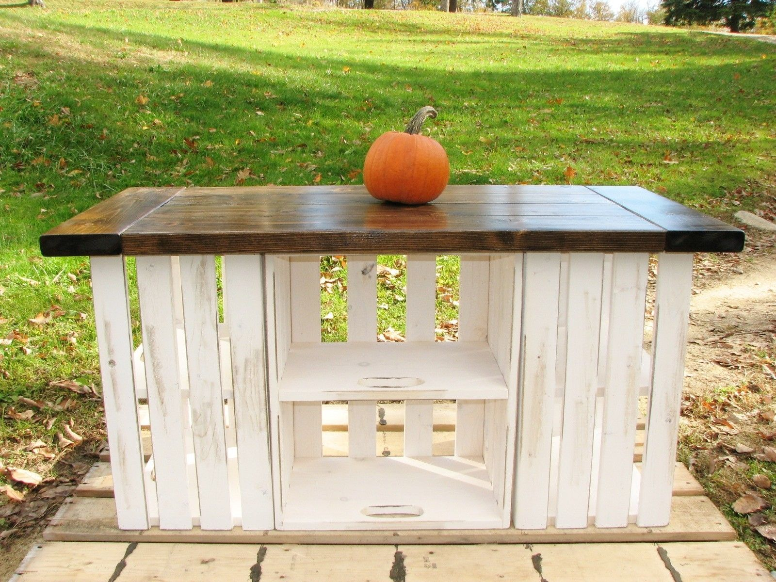 buy a hand crafted rustic country kitchen island made to order