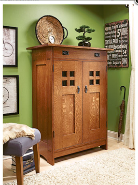 Custom Made Gentlemens Dresser Arts And Crafts Style