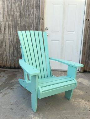 Custom Made Painted Adirondack Chairs