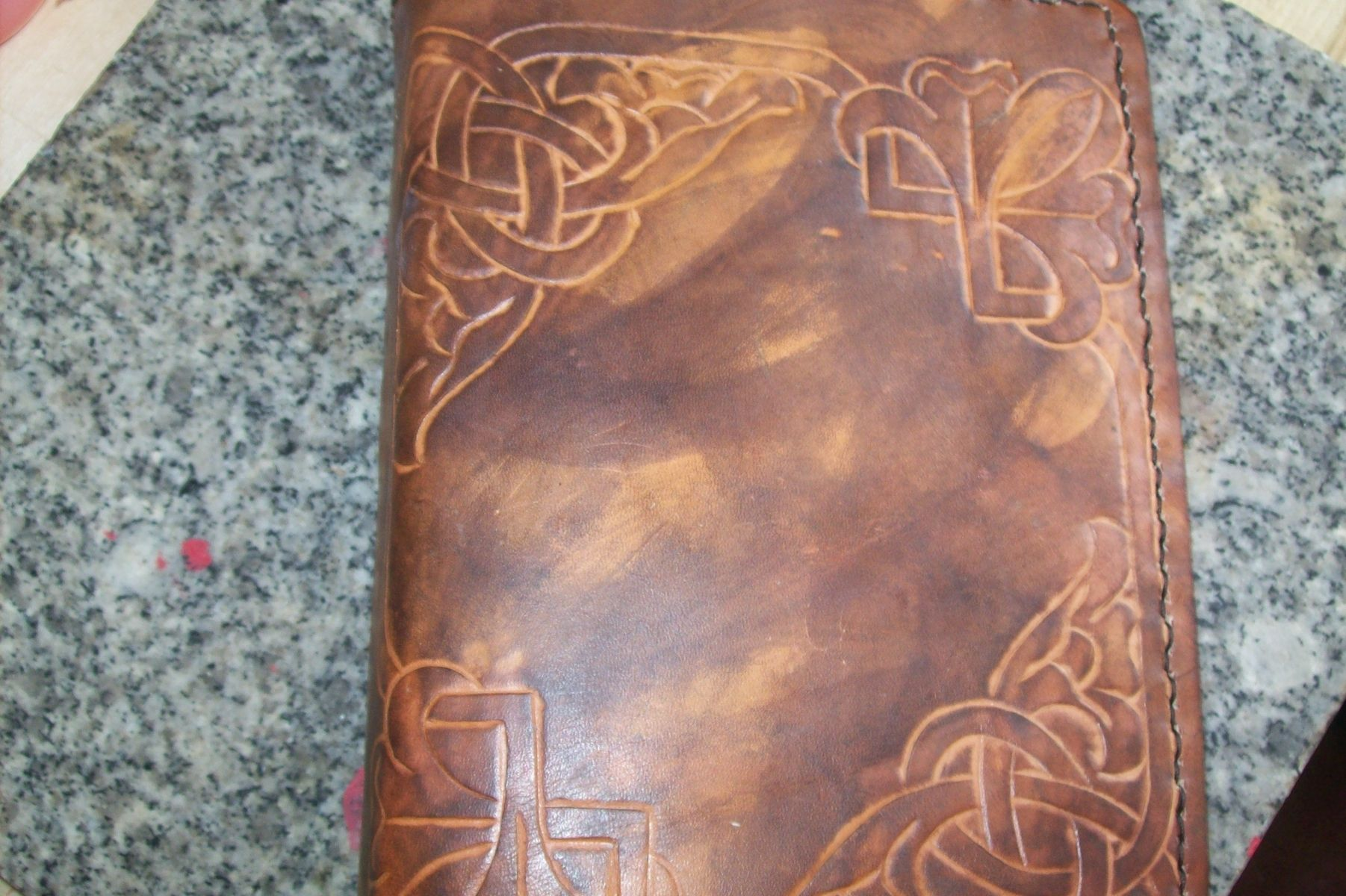 Buy A Hand Crafted Custom Leather Address Book With 4