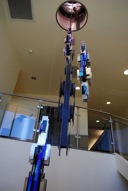 Custom Made Custom Hanging Sculpture - American Board Of Radiology Installation, October 2013