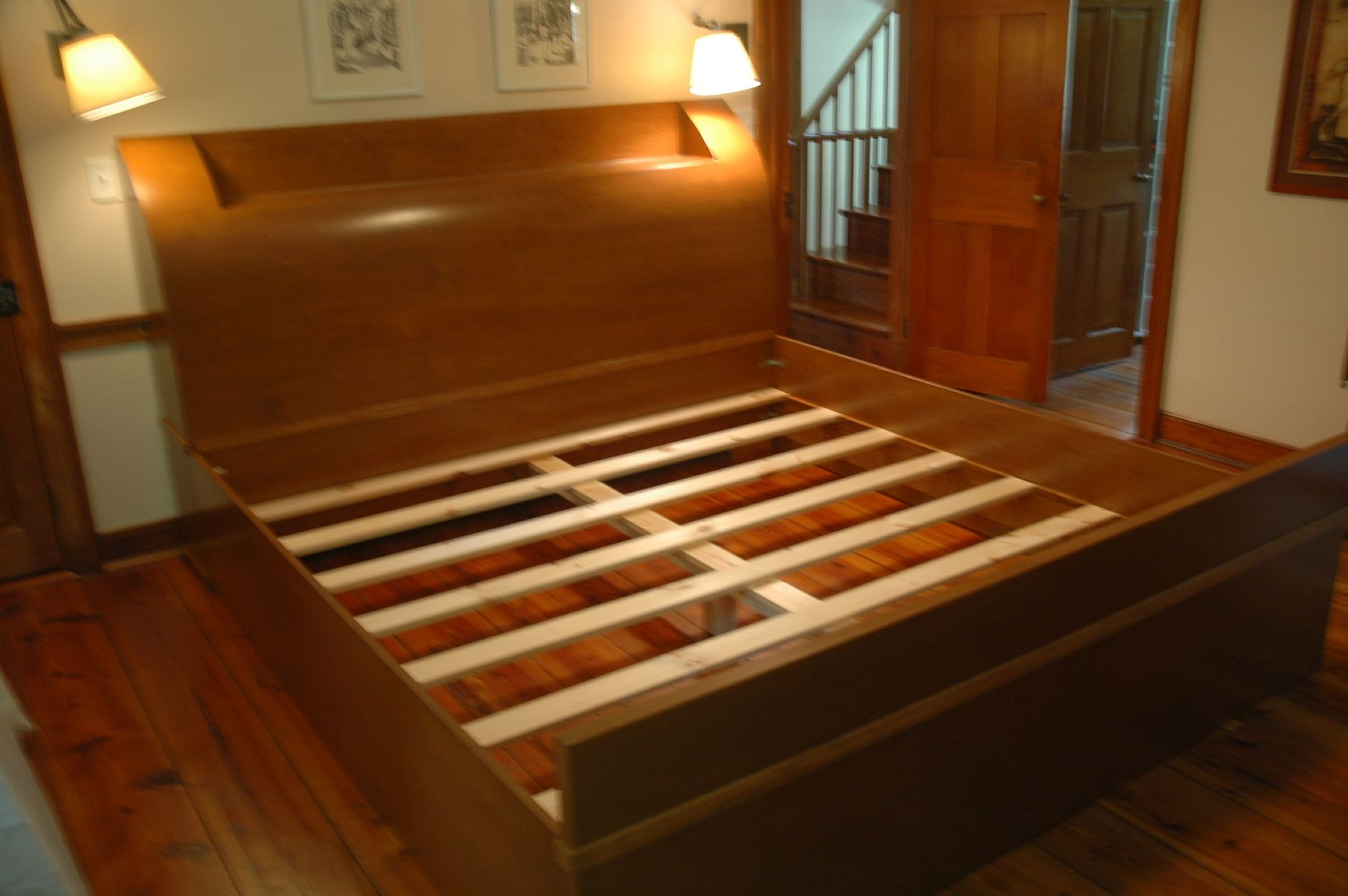 Custom Arched Headboard Bed Frame By Wooden It Be Nice