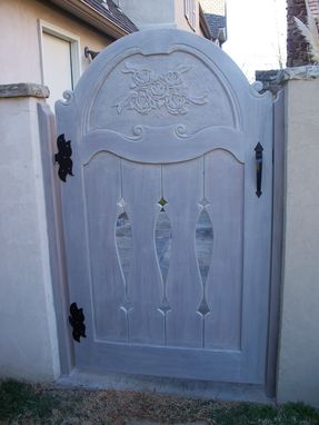Custom Made Arched Garden Gate