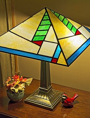 Custom Made Prairie Style Lamp 2