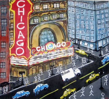 Custom Made Commission Painting For Client In Chicago Il.