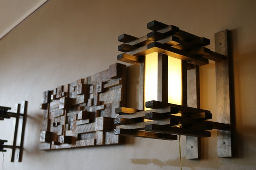 Custom Made Woodwarmth Sconce & Wall Lamp