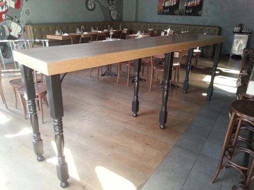 Custom Made Hope Garage, 10' Bar Tables In Brooklyn Ny ( Williamsburg Area )