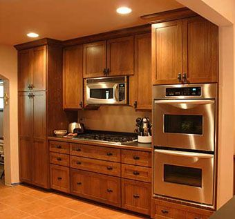 Custom Quarter Sawn Oak Kitchen By Peabody Enterprises