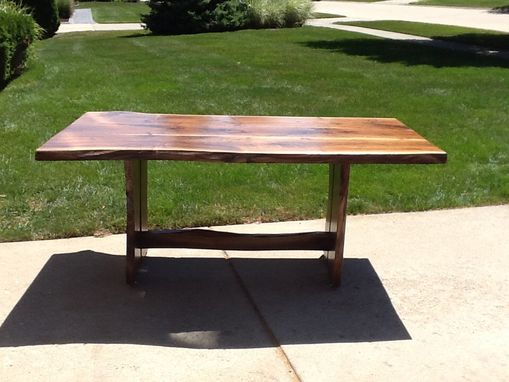 Custom Made Beautiful Live Edge Dining Table
