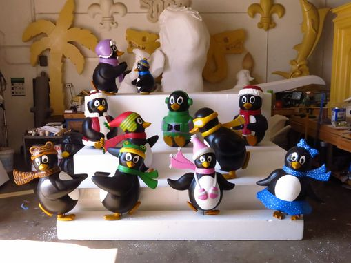 Custom Made Penguins Props