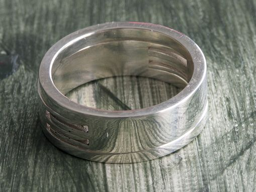 Custom Made Couple's Interlocking Rings