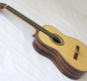 Custom Made Malaysian Blackwood Ultra-Narrow-Neck Classical Guitar