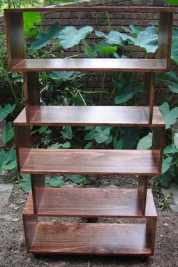 Custom Made Mid Century Bookcase By Mr2 Woodworking