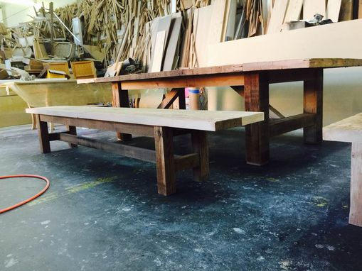 Custom Made Reclaimed Douglas Fir Table