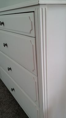 Custom Made White Dresser