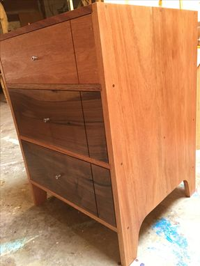 Custom Made Desk Top / 3-Drawers Underneath / Low-Back Chair