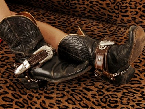 Custom Made Custom Made Leather Boot Straps