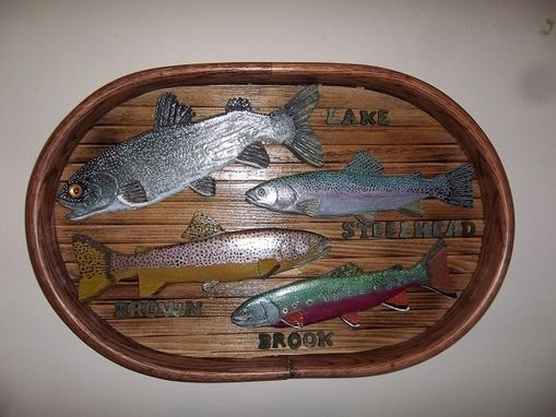 Custom Made Trout Of The Great Lakes Basin