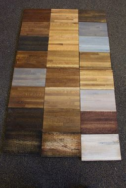 Custom Made Salvaged Hardwood Accent Wall Kit