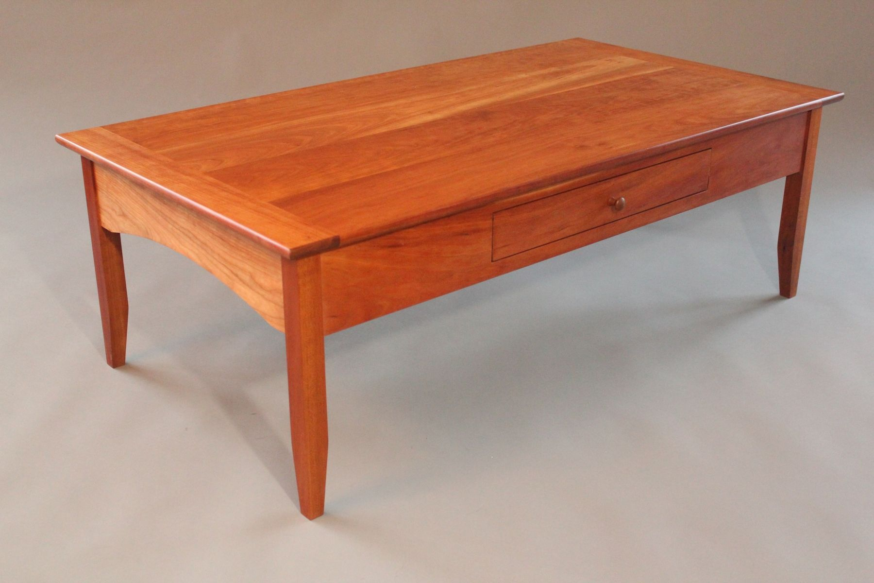 Handmade Cherry Coffee Table by Blue Spruce Joinery