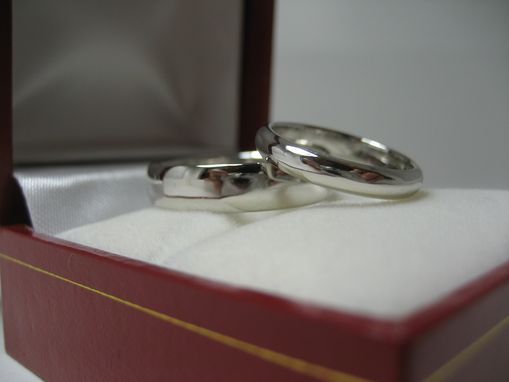 Custom Made Platinum Wedding Bands