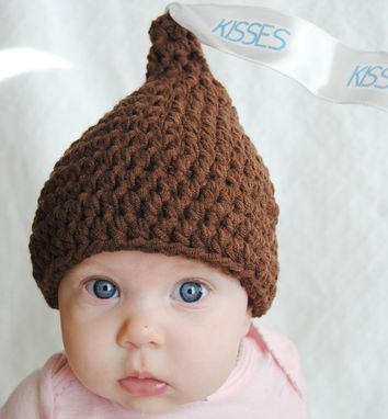 Custom Made Chocolate Kiss Hat