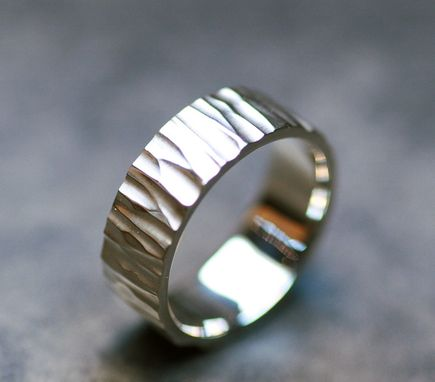 Custom Made Deeply Hammered Band