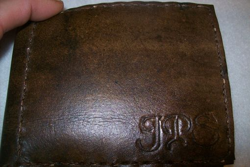 Custom Made Custom Leather Moneyclip Wallet