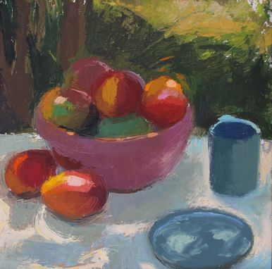 "Custom Made Commissioned Still Life:   Oil Painting,  24""X24"""