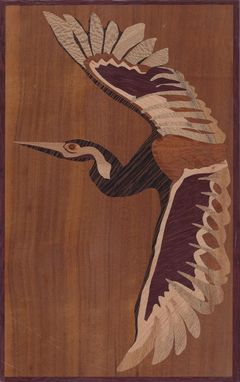 Custom Made Marquetry Panel