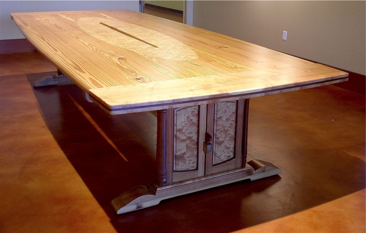Miraculous Custom Made Reclaimed Heart Pine Conference Table By Louis Interior Design Ideas Lukepblogthenellocom