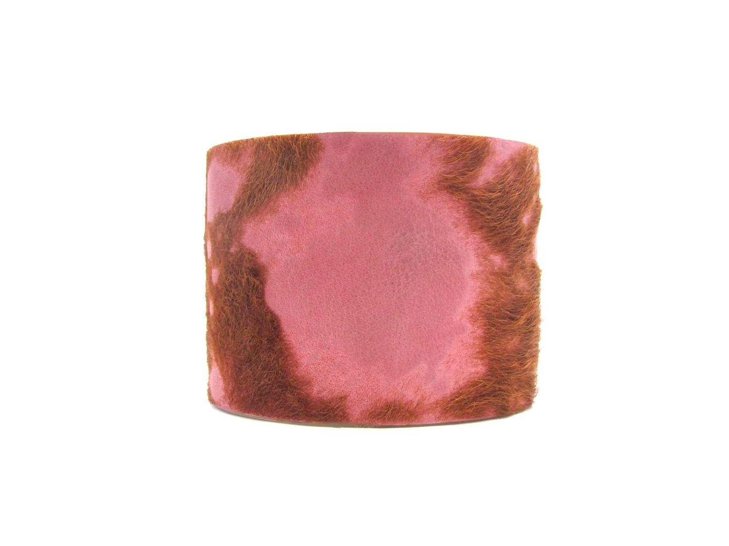 Custom Made Western Cuff Bracelet - Sterling Silver Plated - Pink ...