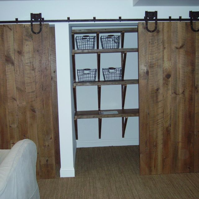 Custom Barn Door Closet By Reclaimed Wood Furnishings Custommade