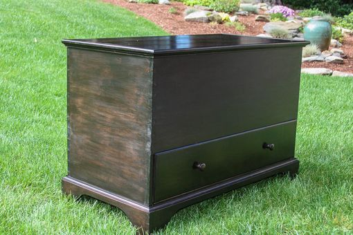 Custom Made Shaker Style Blanket Chest