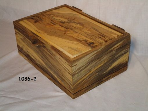 Custom Made One Of A Kind Uniquely Colored Maple Box