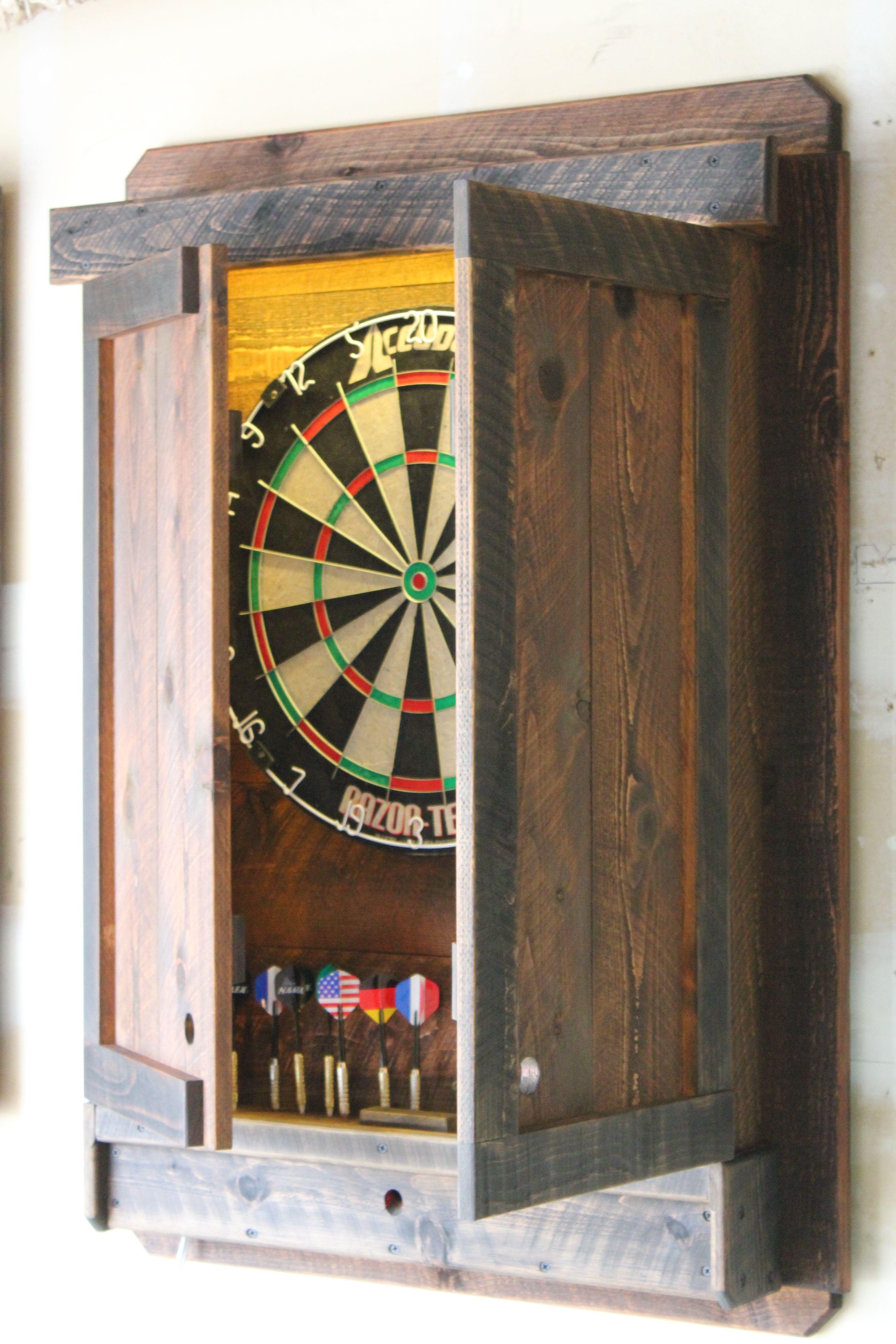 Buy A Custom Dartboard Cabinet Light Led Dart Board Throw Line