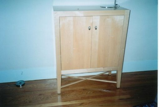 Custom Made Maple Cabinet