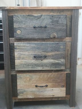 Custom Made Ponderosa Pine Accent Drawer