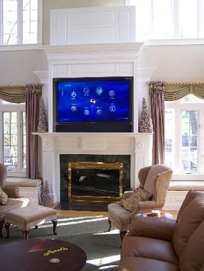 Custom Made Tv Cabinet With Remote Control Panel Lift