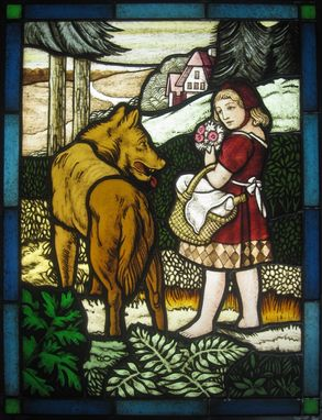 Custom Made Little Red Riding Hood Panel