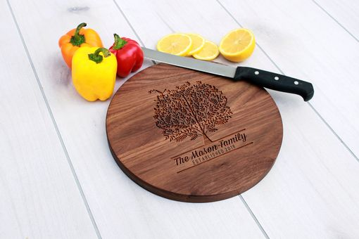 Custom Made Personalized Cutting Board, Engraved Cutting Board, Custom Wedding Gift – Cbr-Wal-Mason