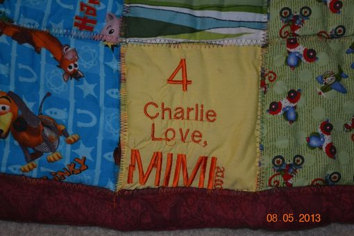 Custom Made Toy Story Cuddle Quilt
