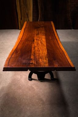 Custom Made Live Edge Slab Bar Top Coffee Table End Table