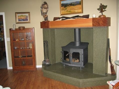 Custom Made Historic Ranch House Hearth