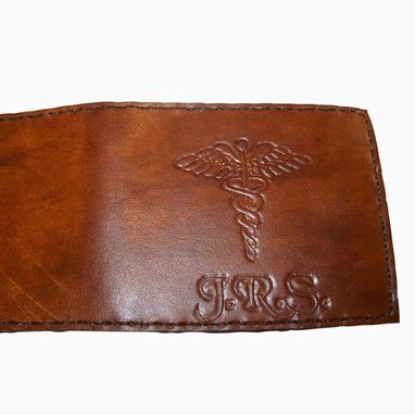 Custom Made Custom Leather Maverick Wallet