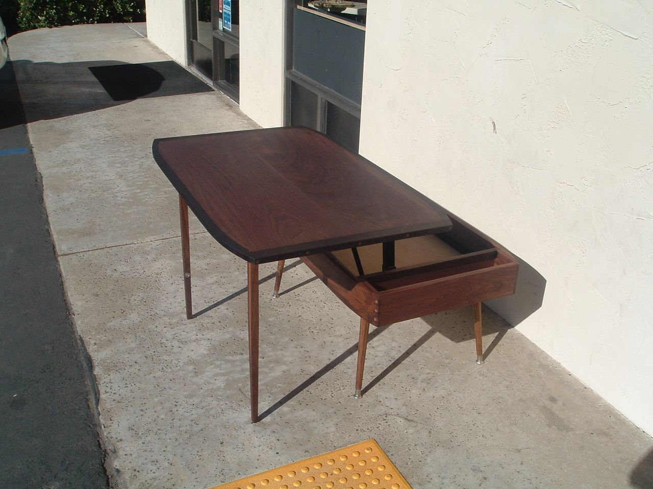 Hand Made MidCentury Modern LiftTop Coffee Table By Antikea - Mid century lift top coffee table
